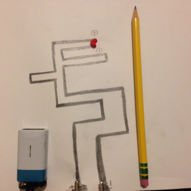 Can you use a No. 2 pencil to draw an electrical circuit? - KitHub