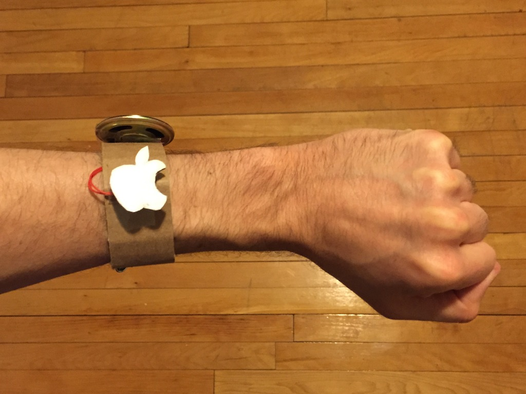 Make Your Toys Talk - Apple Watch