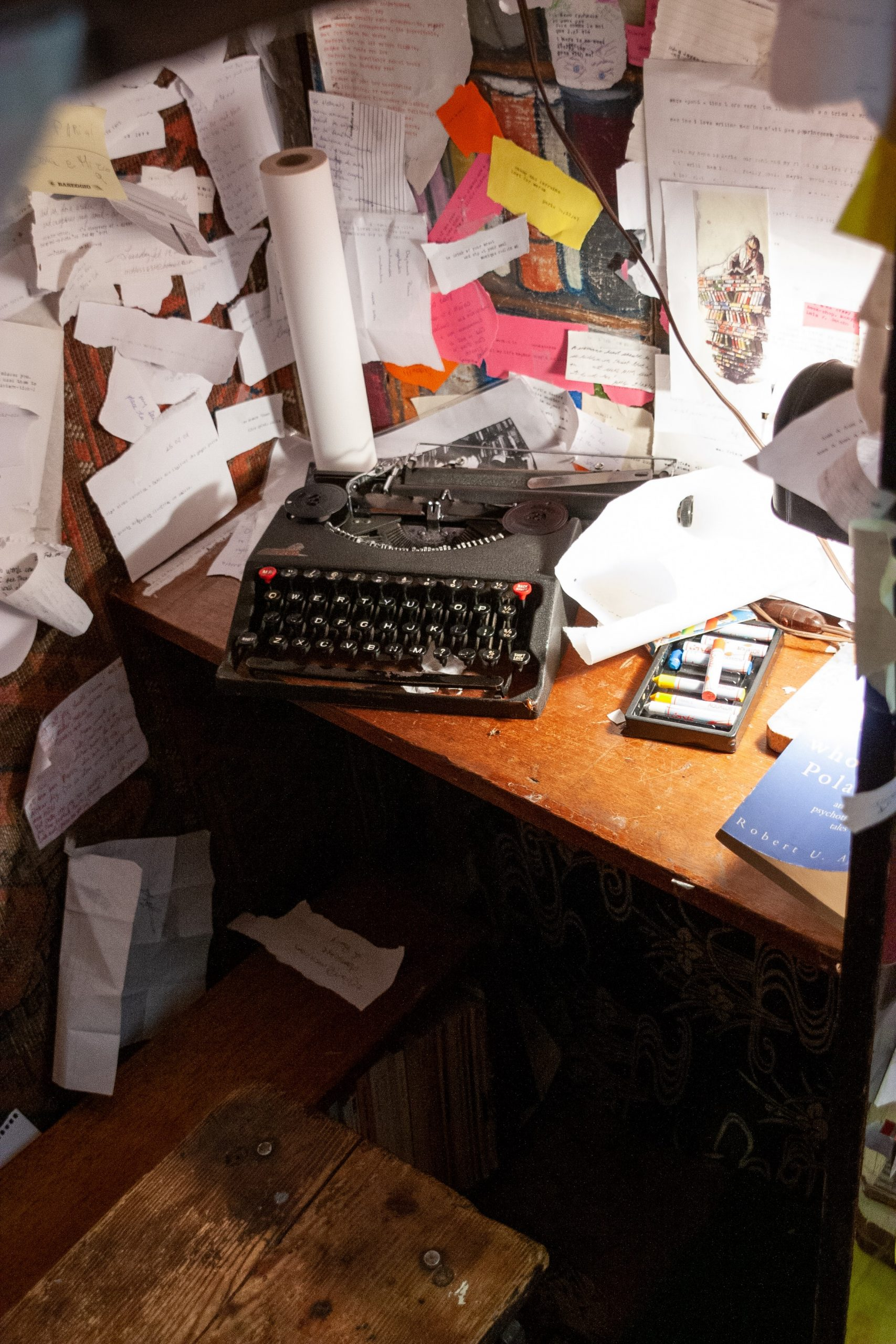 Messy Space with Typewriter